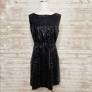 Broadway and Broome Black Lightbox Sequin Dress 6